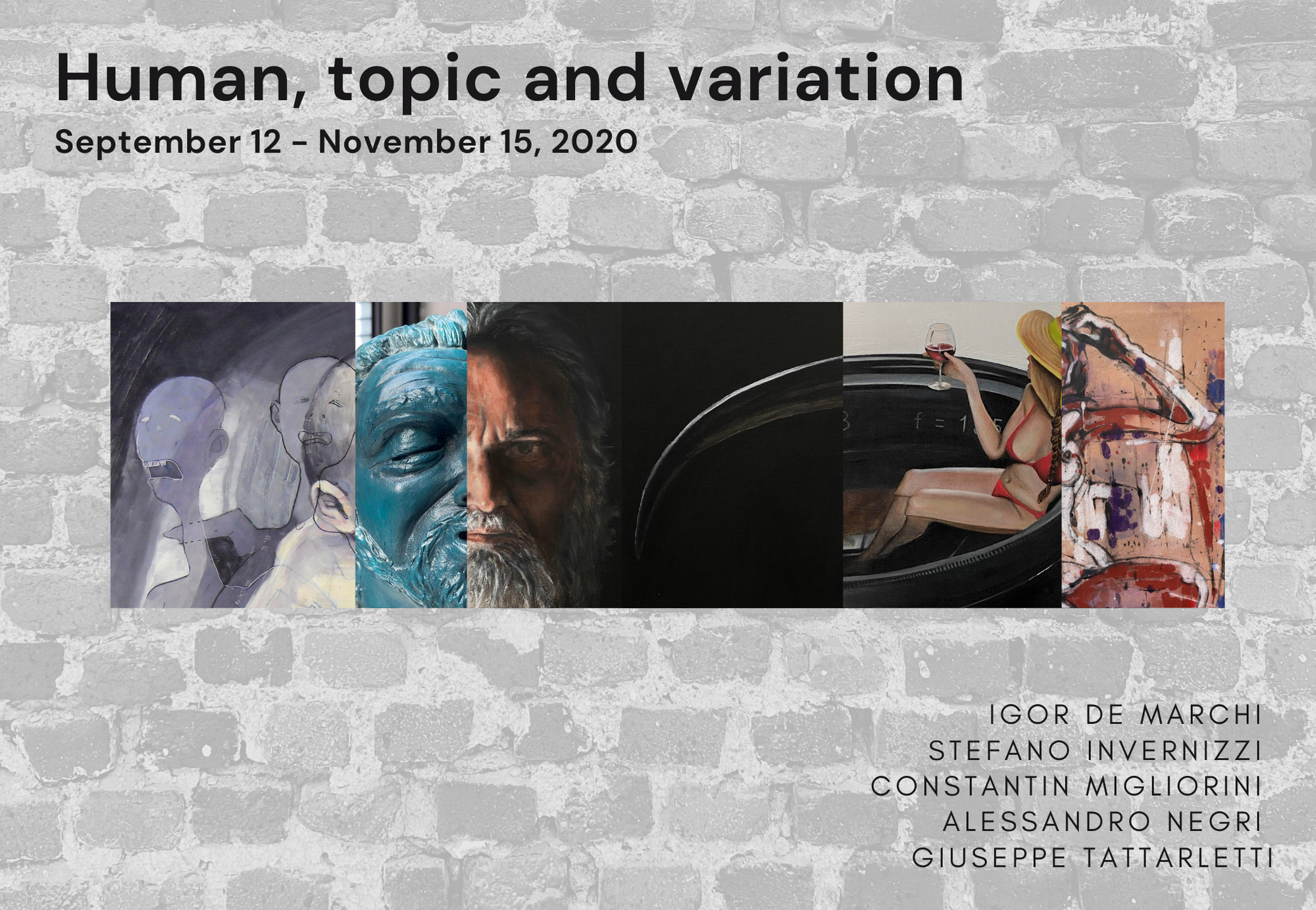 Human, topic and variations